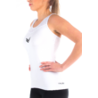 Vincere Elite Tank Top - White
