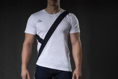 Talisman t-shirt White-Navy
