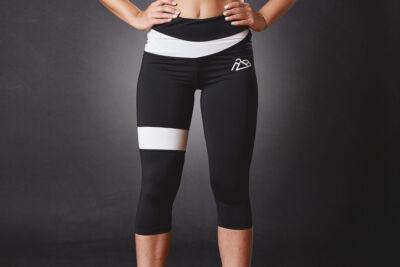 Rebel 3/4 leggings BLCK