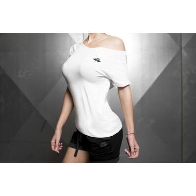 Drop Shoulder Prometheus T – White