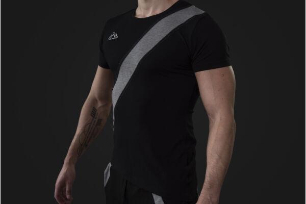 Talisman t-shirt Black-Grey