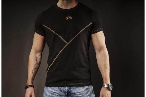 Orion T-shirt Black-Gold