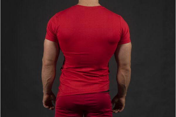 Men's Identity t-shirt RED