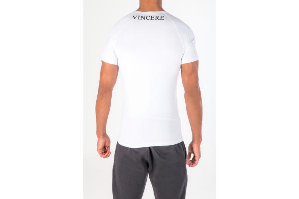 Vincere Pro Physique Tee - White